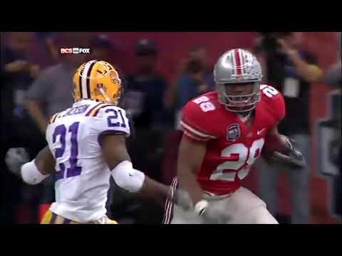 Ultimate Chris Beanie Wells Career Ohio State Highlights
