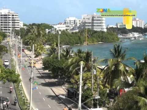 zona Cap 35 panorama turistico san andres providencia occre y coralina