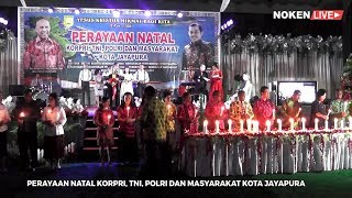 Perayaan Natal Bersama Pemerintah Kota Jayapura