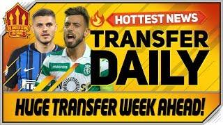 bruno fernandes icardi tielemans latest man utd transfer news