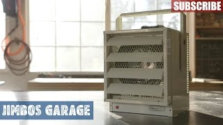 NewAir G73 Garage Heater Install - Jimbos Garage