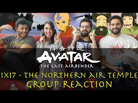 Avatar: The Last Airbender - 1x17 The Northern Air Temple - Group Reaction