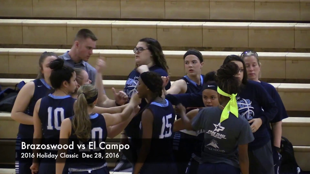 dea50177 Highlights - Brazoswood Lady Bucs vs El Campo 2016 Holiday Classic  (Basketball)