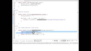 Random Password Generator (Java)