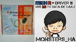 itech R-Driver III Usb 2.0 to sata ide cable HDD Harddisk