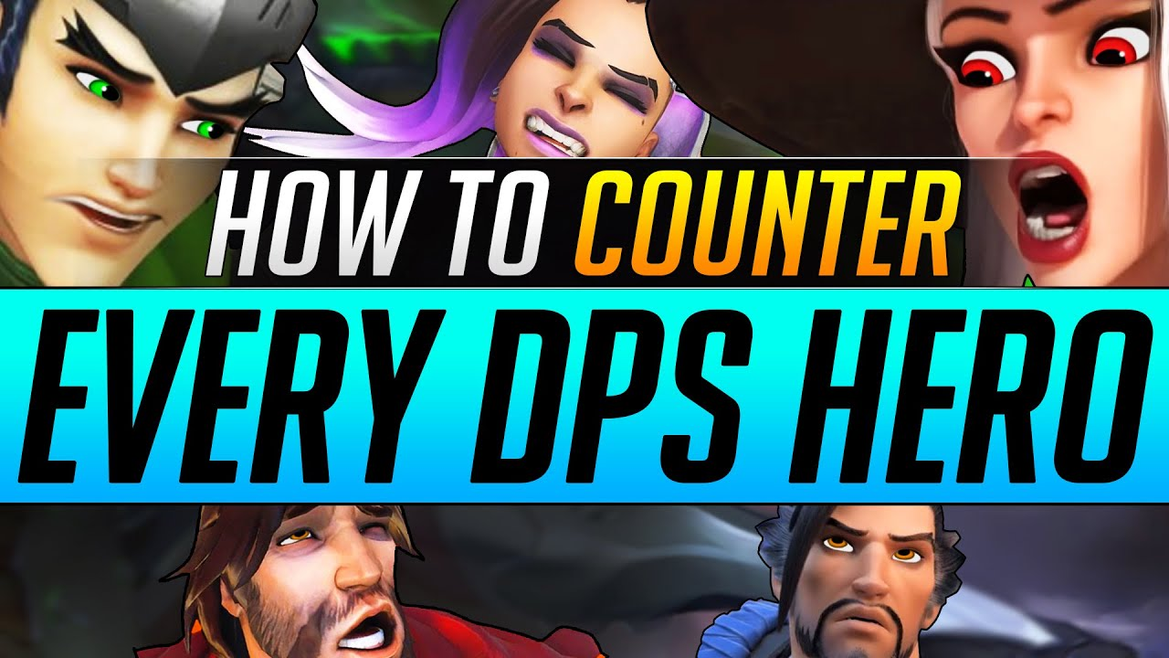 How to COUNTER EVERY DPS Hero - 2 Tips Grandmasters ABUSE - Overwatch Pro Tricks Guide