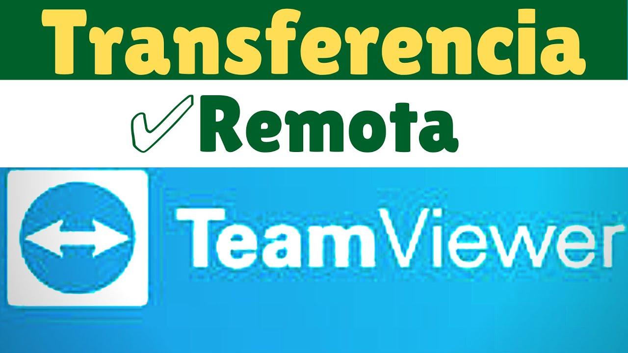 ✅Como Transferir Un Archivo Y Controlar Otra Pc Con TeamViewer 2020
