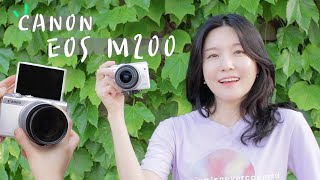 입문용 카메라 캐논 EOS M200에 들어간 기능…