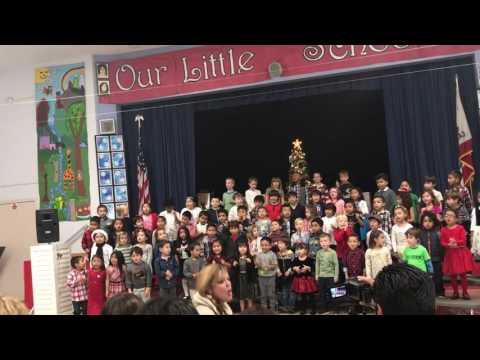 Beethoven Street Elementary School Kindergarten -Winter Program