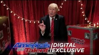Donald Trump Is Winning Over The Hearts Of These Judges | America's Got Talent 2017