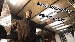 MASSIVE LED-BELEUCHTUNG für meine neue Werkstatt | Werkstatt4 F.02