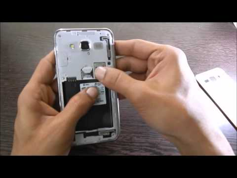 How to insert MicroSD card into Samsung Galaxy J5