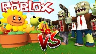 🌿PLANTS VS ZOMBIES🎃 en ROBLOX!!