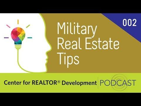 Episode 002 CRD Podcast: Military Real Estate Tips