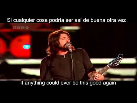 Foo Fighters   Everlong  Lyric  Ingles  Español