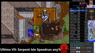 Ultima VII: Serpent Isle Speedrun any% (2h1m) no debug WR