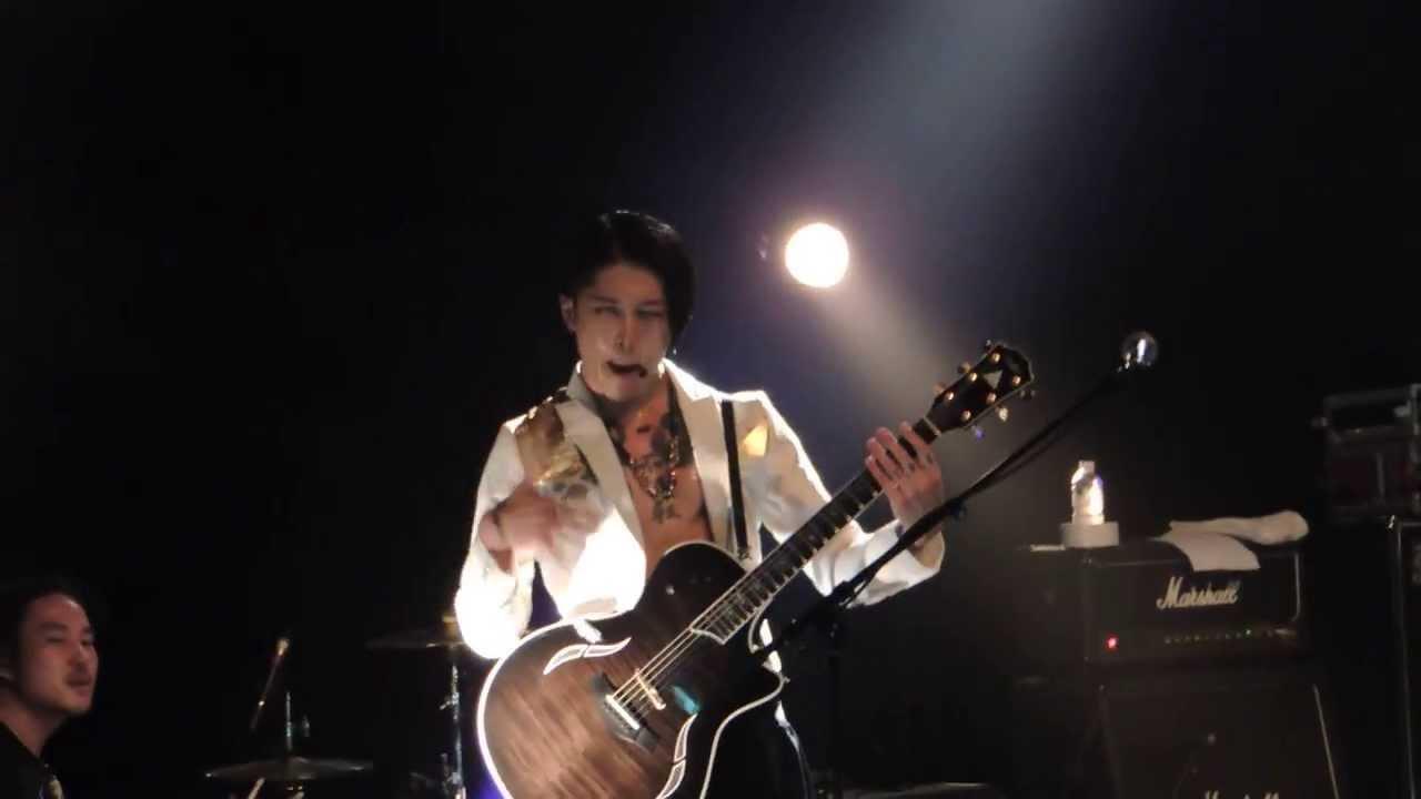 Miyavi Secret Live Concert In Paris La Cigale 14 03 14