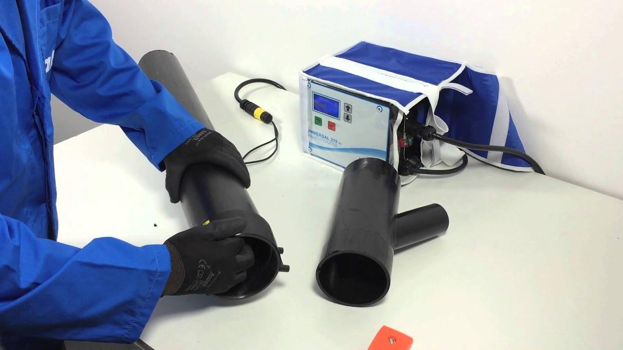 vendita di liquidazione moda ineguagliabile Saldatura HDPE con manicotto elettrico - Electrofusion couplings HDPE  welding