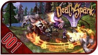 DeathSpank [HD] Co-op Playthrough part 1 (Xbox 360)