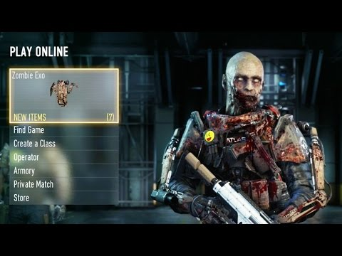 Call of Duty Advanced Warfare - HOW TO PLAY AS A ZOMBIE!