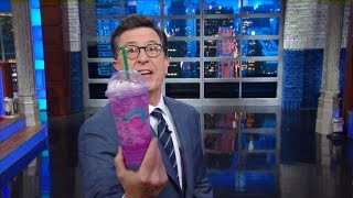 Stephen Hate-Tastes Starbucks' Unicorn Frappuccino