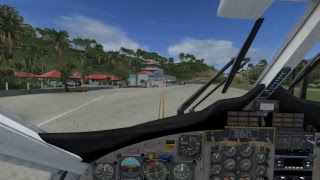 FSX 2017 - Flying with my GIRLFRIEND around the Caribbean - with some CRAZY landings!