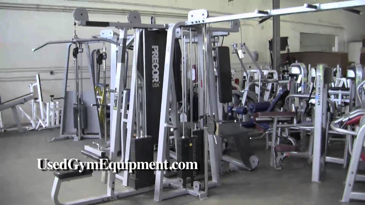 Used precor stack jungle gym multigym refurbished for