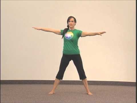 simple 1 min yoga pose for beginners  beyond 3rd chakra