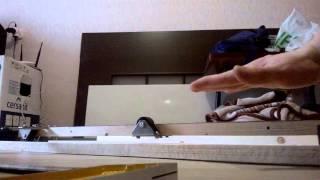 видео Механизм откатных дверей