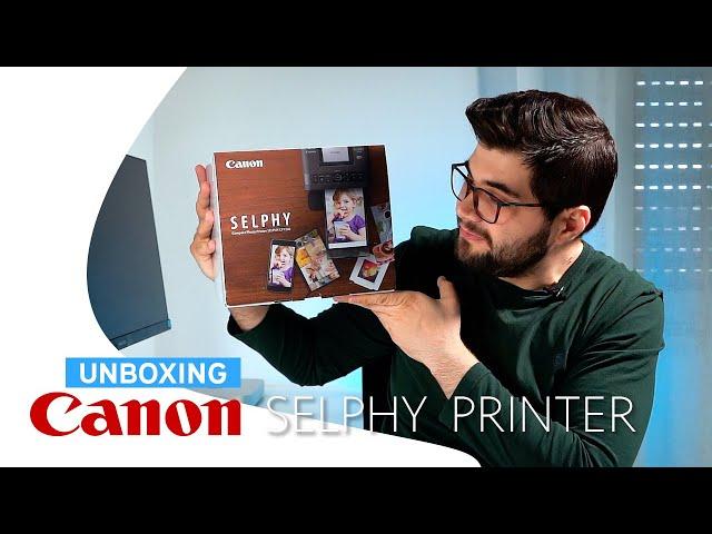 Unboxing - Canon Selphy CP1300 - Stampante per fotografia