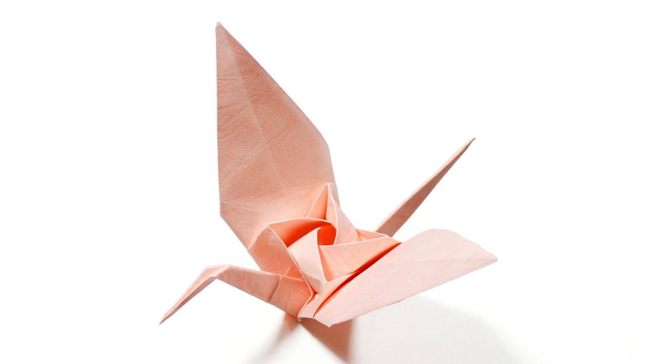 How to fold origami Tsuru Rose (Kawasaki Rose Crane ... - photo#22