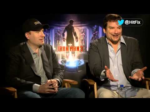 Iron Man 3 - Kevin Feige & Shane Black Interview