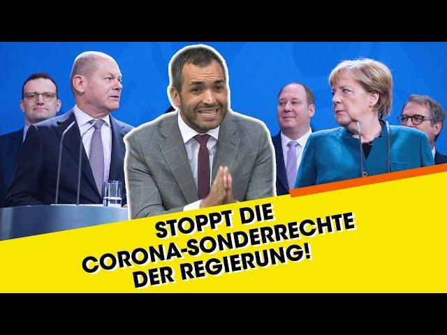 FDP-Politiker: Stoppt Sonderrechte der Regierung!