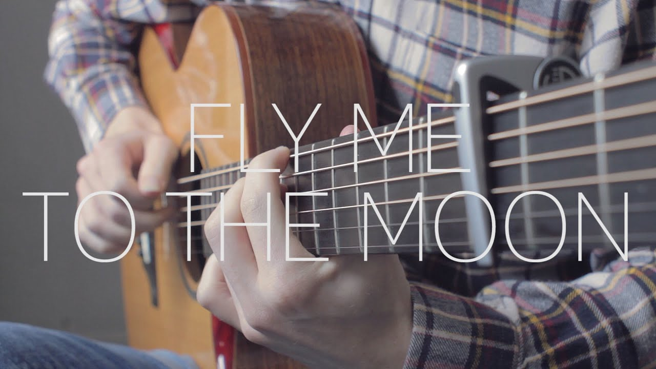 Fly Me To The Moon Frank Sinatra Fingerstyle Guitar Cover By
