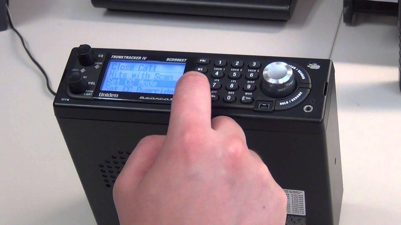 BCD996XT Turn Off Close Call