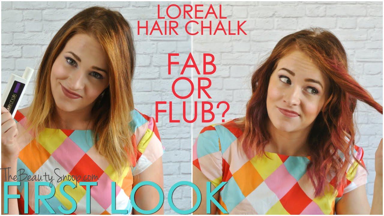 Loreal Hair Chalk Fab Or Flub You