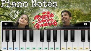 Jathikka Thottam Piano   Thanneer mathan dinangal