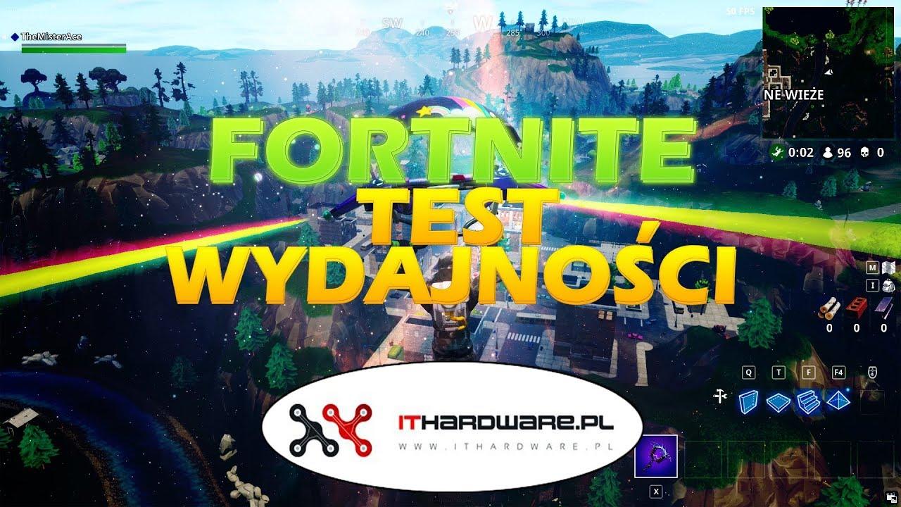Wydajność kart graficznych w Fortnite: Battle Royale | ITHardware