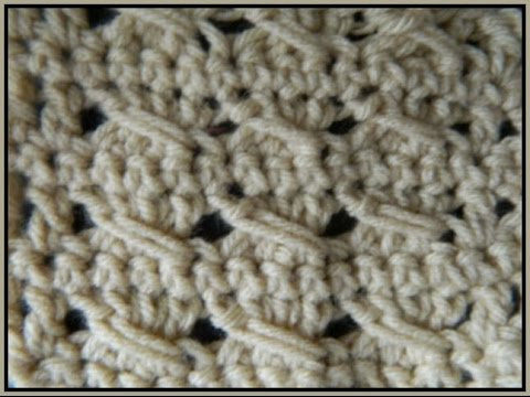 Slant Stitch Crochet Pattern