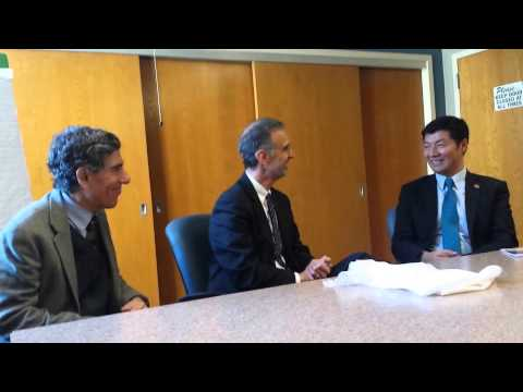Sikyong meeting with county executive Joe Parisi Madison WI