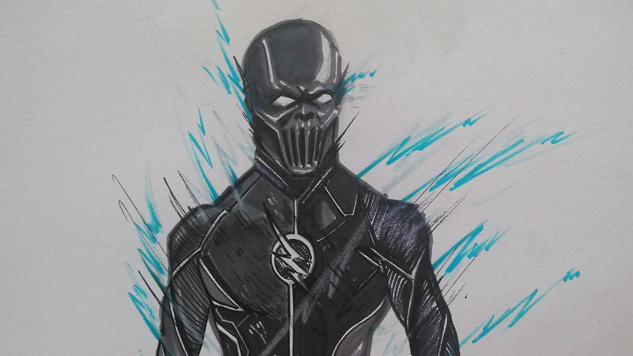 Drawing Zoom From The Flash Youtube