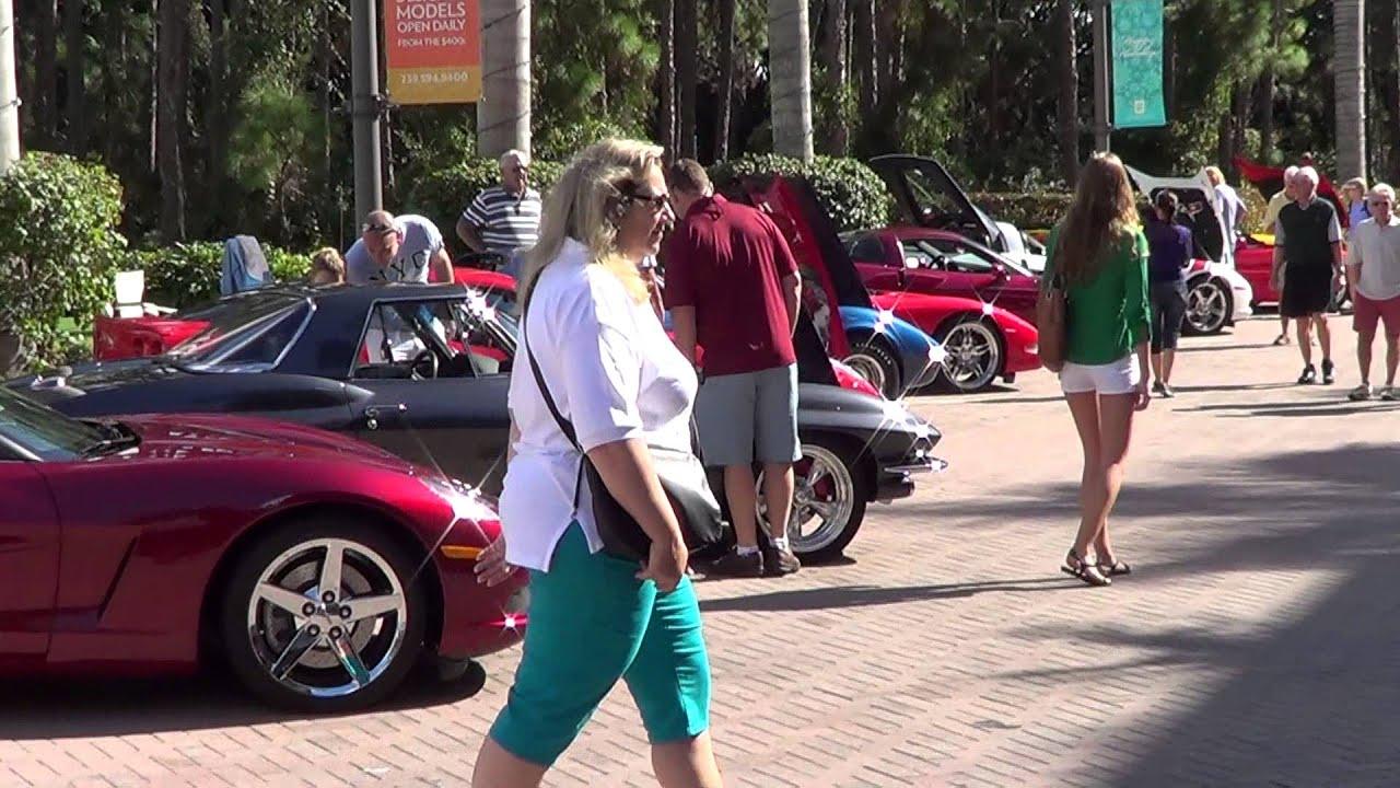 Naples FL Luxury Car Show At Mercato YouTube - Mercato car show