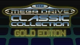 Sega Mega Drive Classic Collection Gold Edition : Full Game List