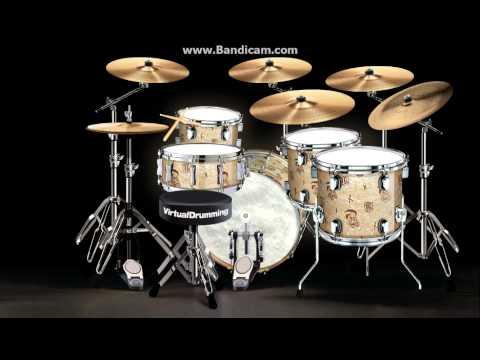 Boulevard Of Broken Dreams By Green Day Virtualdrumming New Drum Set
