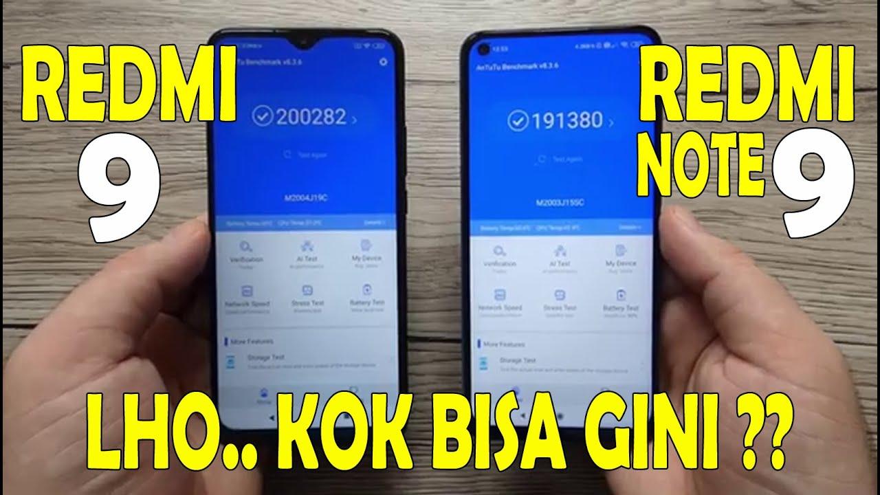 REDMI 9 VS REDMI NOTE 9 Indonesia | pertimbangan sebelum beli...
