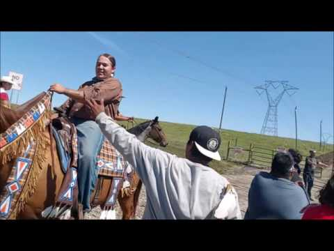 Call to block Pipeline CannonBall ,North Dakota SACRED STONE CAMP