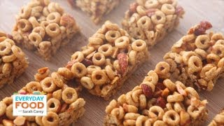 Honey Nut Cereal Bars - Everyday Food with Sarah Carey