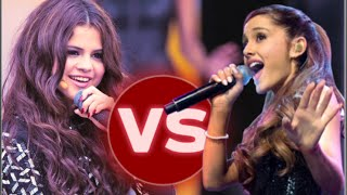 Ariana Grande Vs. Selena Gomez (LIVE RAP BATTLE)