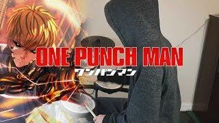 ワンパンマン 2期 OP『静寂のアポストル/JAM Project』Drum Cover (叩いてみた) (One Punch Man Season 2)