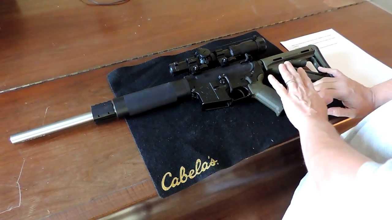 Custom Built Arms AR-15 Stainless Steel Bull Barrel - YouTube